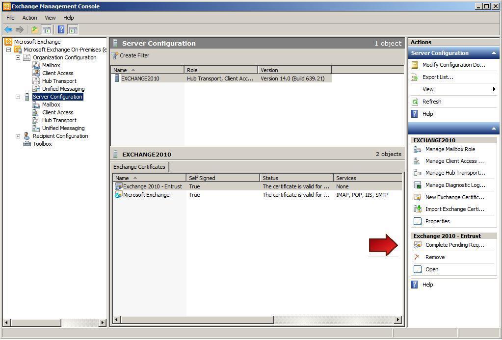 Microsoft Exchange 2010 Ssltls Certificate Installation Instructions