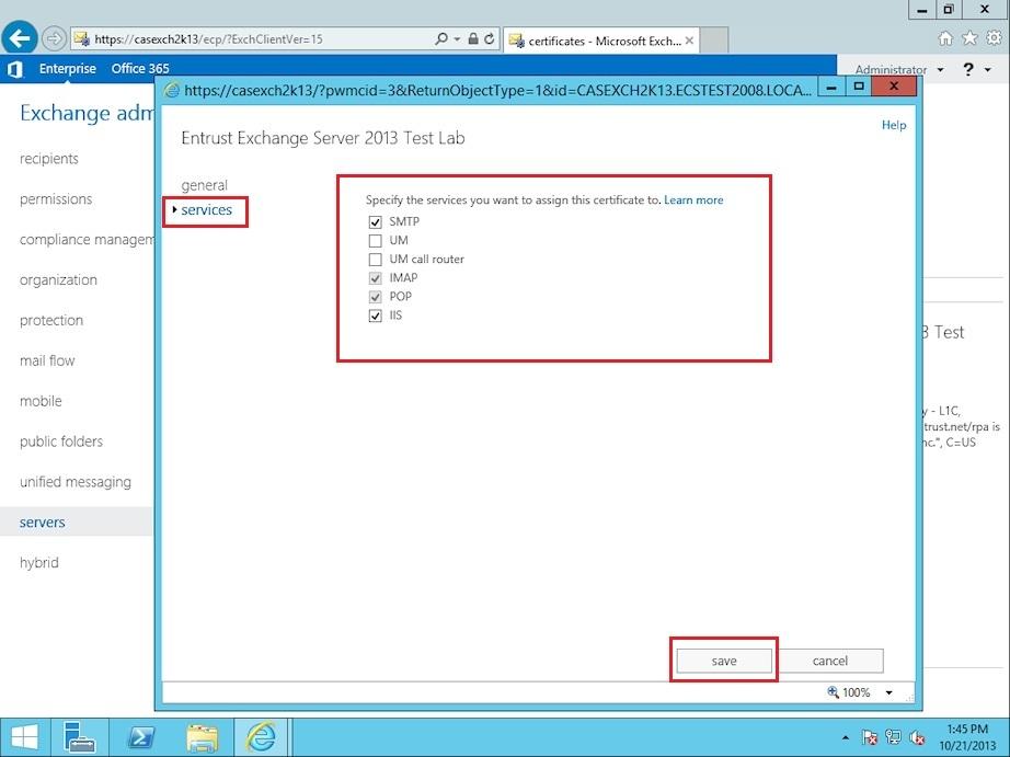 Microsoft Exchange 2013 Ssltls Certificate Installation Instructions